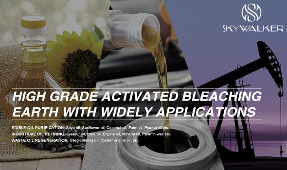 High grade activated bleaching earth