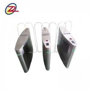 access control full height sliding barrier gate price for building gate