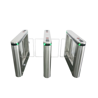 304 stainless steel swing turnstile with access control system