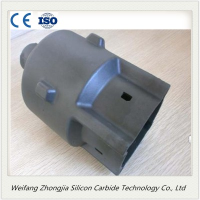 silicon carbide sisic combustion chamber in refractory