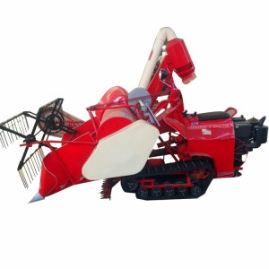 Wheat and Rice Mini Combine Harvester