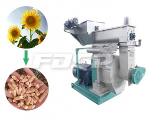 High Efficient 1t/H Wood Pellet Mill Machine for Sale