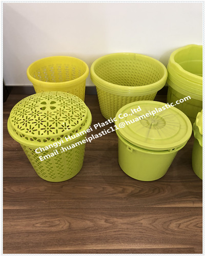 household plastic color eco-friendly cleaning bucket /pail/ in  bedroom ,kitchen ,living room