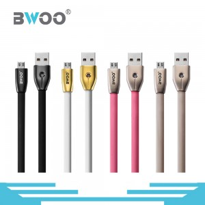Portable High Speed Micro USB Lightning Type C TPE Data Cable Charger
