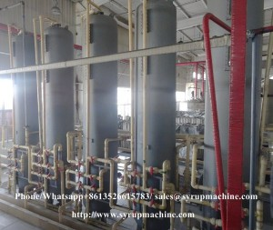 High purity corn starch syrup processing equipments