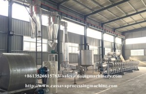 Cassava flour processing equipment for sale
