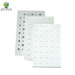 noise reduction perforated gypsum acoustic ceiling board