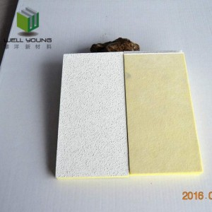 sound diffuser fireproof fiberglass wool panel