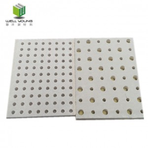 round holes sound diffuser perforated gypsum board