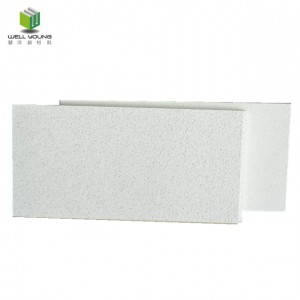 fire resistance fiberglass wool acoustic ceiling tiles