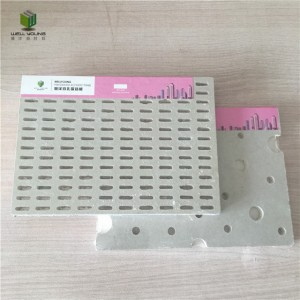 superior soundproof perforated gypsum board