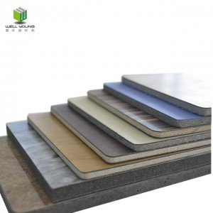 laminated hpl magnesium oxide wall board