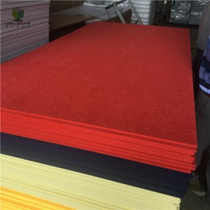 cheap price soundproof polyester fiber acoustic panel