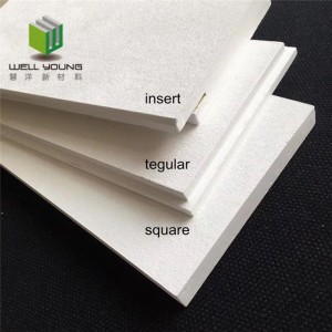 excellent sound absorbing fiberglass ceiling panel