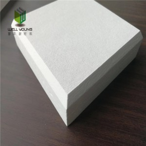 sound absorption glass fiber suspended ceiling panel