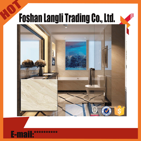 Factory outlets bathroom polished ceramic floor tiles