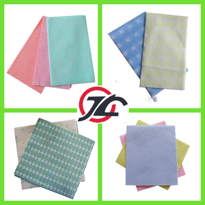 Nonwoven Viscose And Polyester Table Cleaning Cloth
