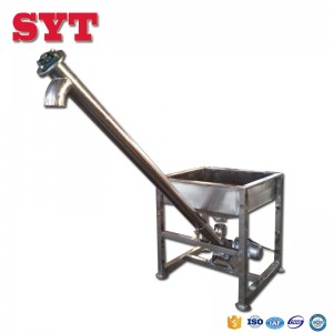 304 stainless steel auger screw conveyor