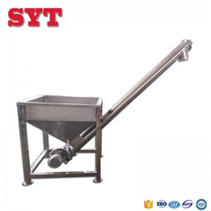Spiral conveying equipment Screw conveyor machine for powder