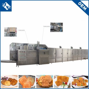 Multi-function Automatic stainless steel machine for baking pancakes