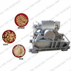 Factory Directly air steam maize corn puffing machine with A Discount