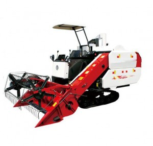 Agricultral Machinery Crawler Combine Rice Wheat Harvester for Farm