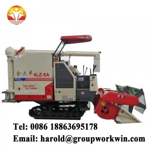 2019 New Type Rice Combine Harvester with Best Price for Sale