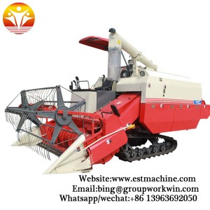 2019 New Type Rice Combine Harvester