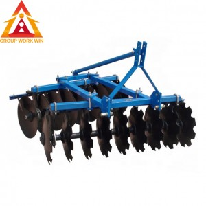 Chinese high quality full suspension medium type disc harrow