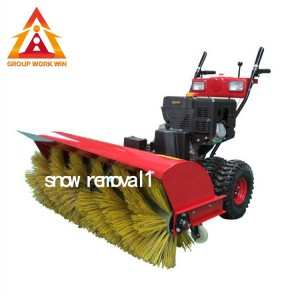 Maintain Good Upright Posture Snow Removal Equipment