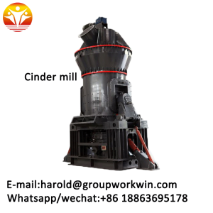 2018 new diesel and electric drive cinder grinding machine