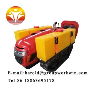 Factory Price of Crawler Tractor Grain Rice Wheat Paddy Cultivator