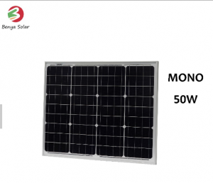 50W Mono solar panel from China manufacturer with better price&quality