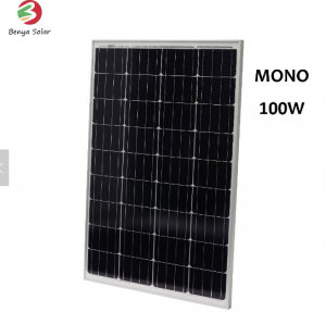 100W Mono solar panel from China manufacturer with better price&quality