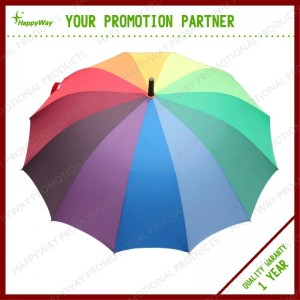 Promotion colorful 3 Fold Umbrella, MOQ 100 PCS 0606017 One Year Quality Warranty