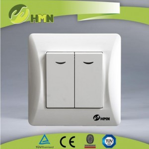 TUV European Standard 2 Way switch with indicator