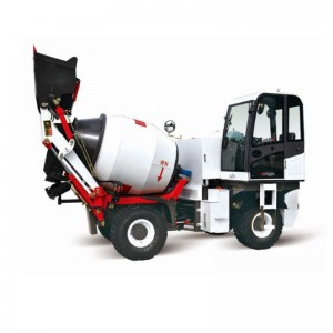 1.5CBM concrete self loading mixer truck