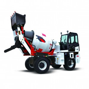 2 cubic meter self loading ready mix truck concrete mixer automatic loading transit mixer cement mixer truck