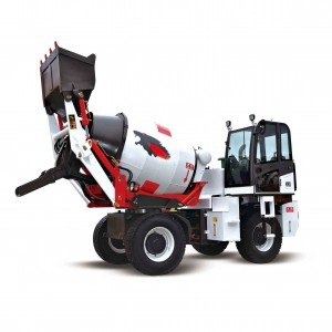 3200 Electric Motor pan 1.5 CBM self loading mobile concrete mixer with electric motor