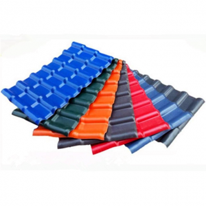 Factory Supply ASA Synthetic Spanish Resin Roof Tile FG-880