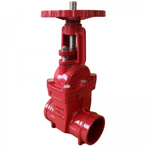 Factory provide PN10 Z45X bs5163 ductile iron gate valve made in china