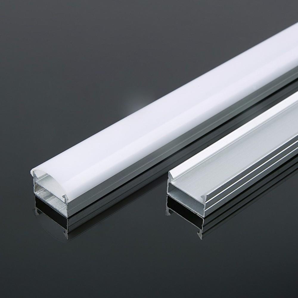 Aluminum groove