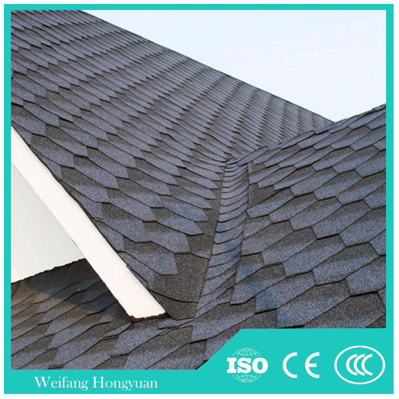 China high quality Building Material asphalt roof shingle