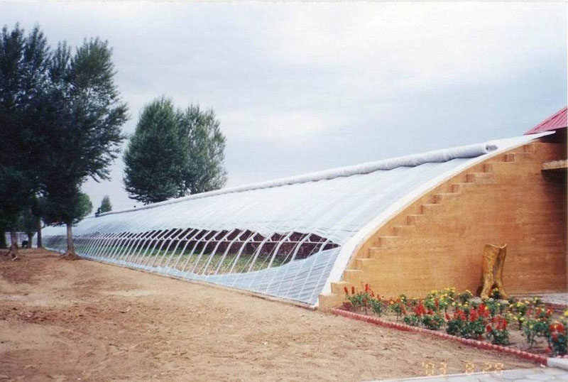 Hot-dip Galvanized Steel Frame Film GreenhouseFilm Greenhouse