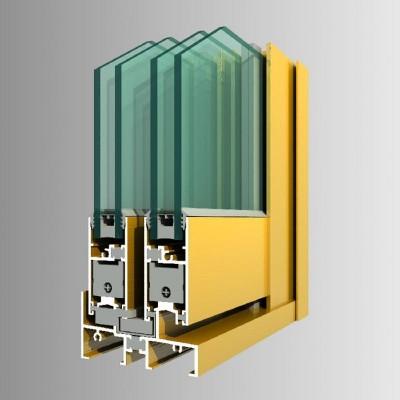 China aluminium profiles for windows and doors frame - wfdbn
