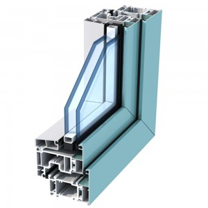 Factory price aluminum extrusion for windows and doors