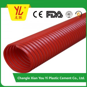 high quality water pump pvc water suction hose