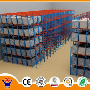 steel pallet rack of heavy duty
