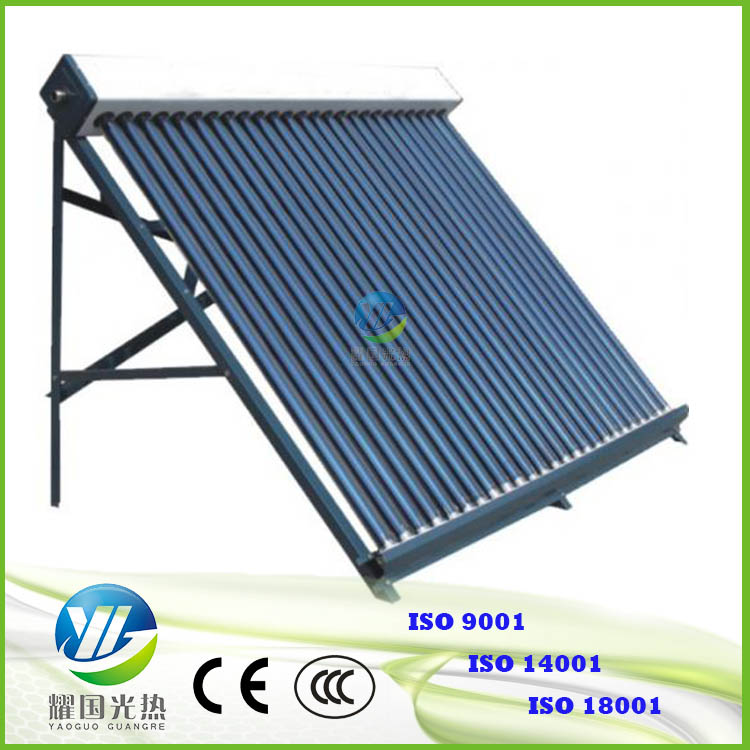 3 layers solar evacuated tubes 58*1800mm 25 tubes solar collector