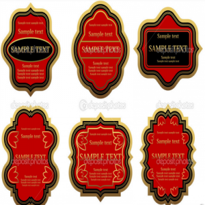 beer labels  ,  coated paper